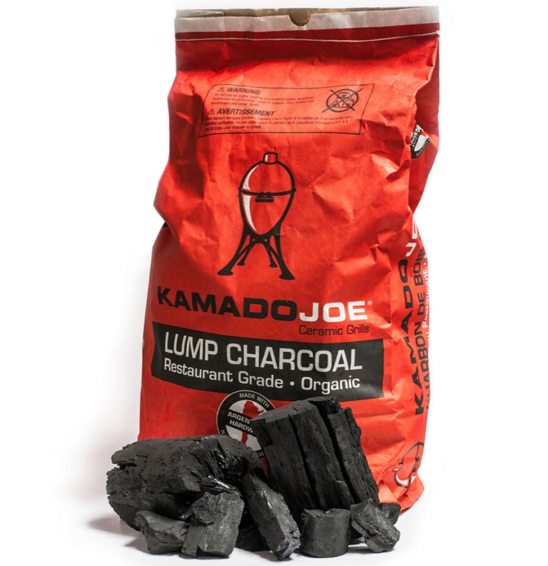 KAMADO JOE™ CHARCOAL.100% Natural Lump Charcoal is made from real trees so it burns clean and gives you a robust wood-fire flavor. Burns hotter for moister meats! Buy online or visit The BBQ Shop at Debden Barns Saffron Walden, Essex.