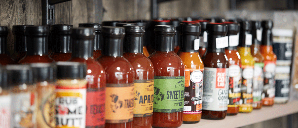Traeger & Angus & Oink Rubs & Sauces at The BBQ Shop Debden Barns